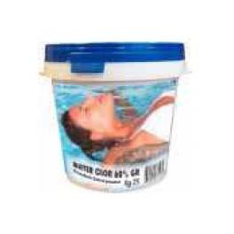 Cloro Piscina WATER CLOR 90%  TRICLORO GRANULARE seccho 10Kg